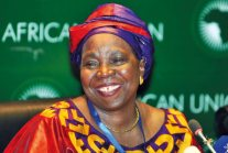 Nkosazana Dlamini Zuma, African Union Commission, image origins unknown