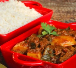 Lamb Curry, image by Living in South Africa - Durban curry
