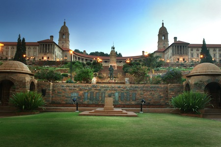 The Union Buildings in Pretoria