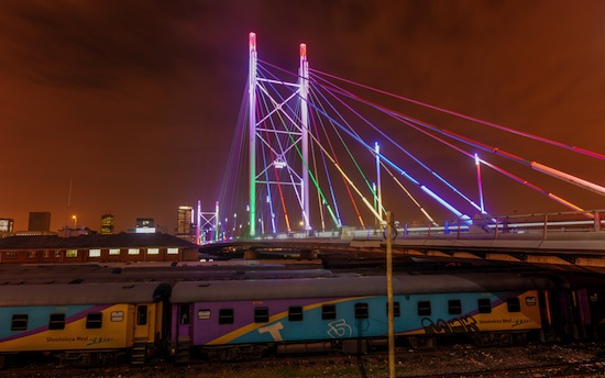 Johannesburg Mandela Bridge