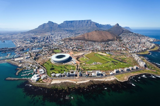 Cape Town South Africa panorama