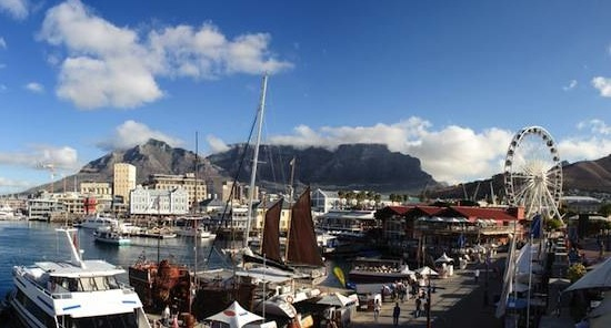 Cape Town Waterfront, image courtesy of Shutterstock