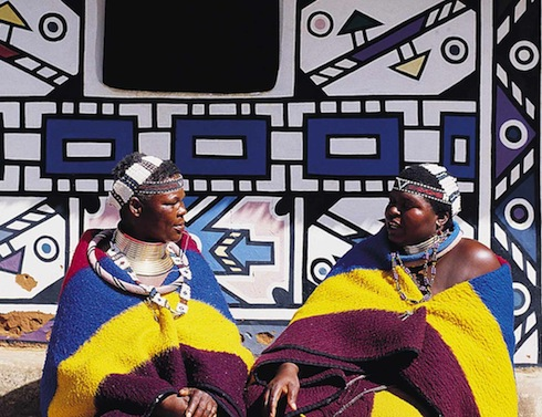 South Africa Ndebele Women