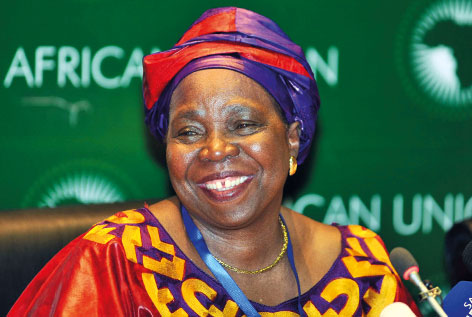 Nkosazana Dlamini Zuma, African Union Commission, image origins unknown