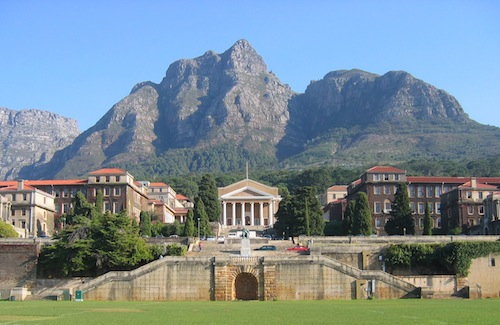 University of Cape Town campus, image by Adrian Frith, wikicommons
