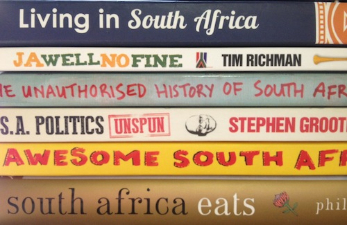 South Africa books